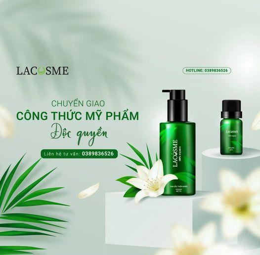 Lacosme - công ty gia công mỹ phẩm độc quyền